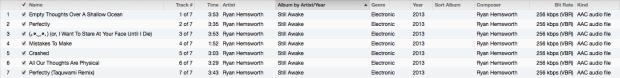 Still Awake Tracklist