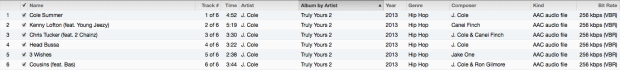Truly Yours 2 Tracklist