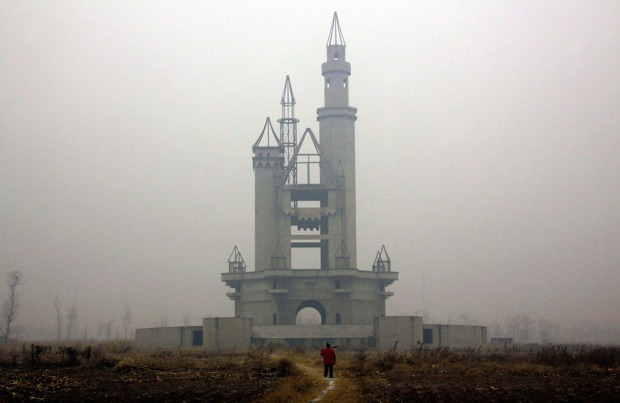 Abandoned Theme Park in Beijing