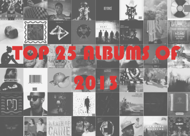 Top 25 Albums of 2013