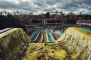 Abandoned Waterslides