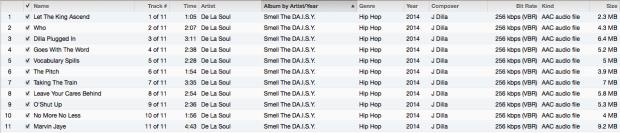 Smell the DAISY Tracklist
